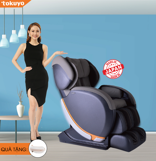 Ghế Massage Toàn Thân Tokuyo JC-3680 (Made In Japan)