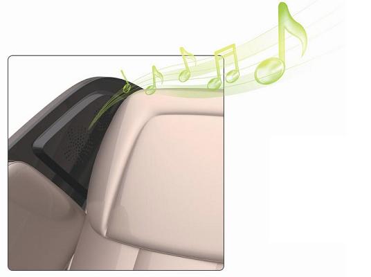 nghe nhạc ghế massage