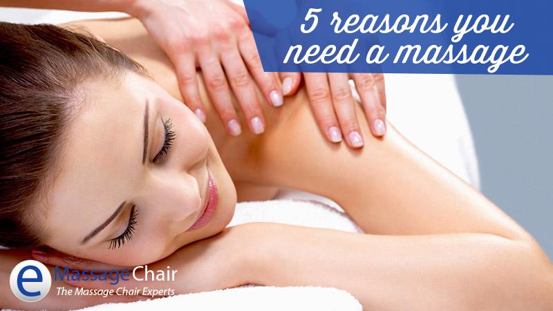 5 lý do bạn nên mua một chiếc ghế massage