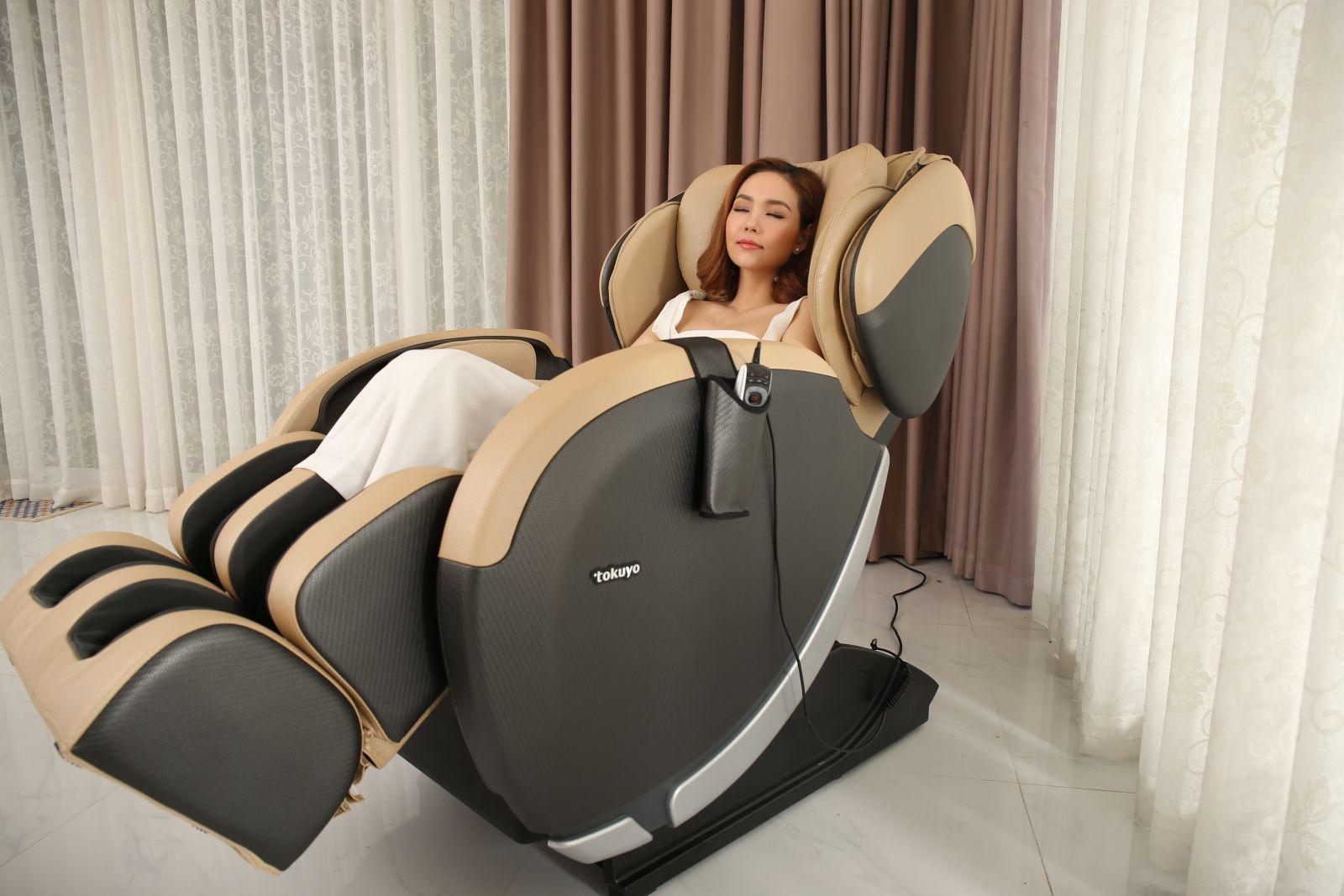 Ghế massage Made in Japan JC3680 - Hoàn hảo trên từng đường nét - Nhập Khẩu Và Sản Xuất 100% tại Nhật