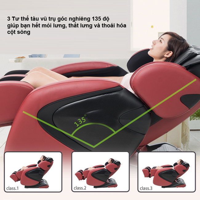Khám phá thế giới bên trong chiếc ghế massage  tốt nhất hiện nay