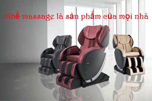 Bạn sẽ hối hận nếu không biết mua ghế massage ở đâu là tốt nhất?