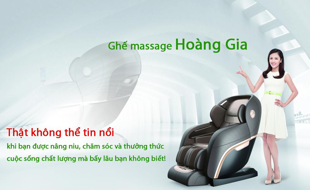 ghế massage hoàng gia