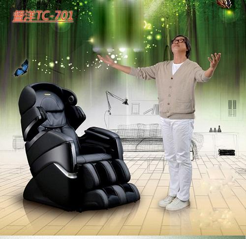 Ghế massage toàn thân giải pháp giúp cải thiện sinh lý ở nam giới