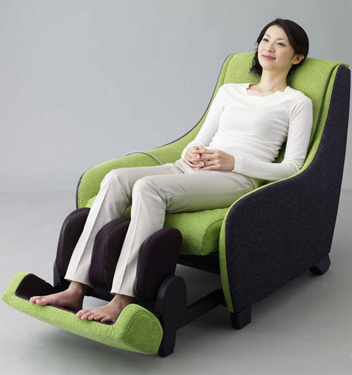 lịch sử ghế massage nhật bản