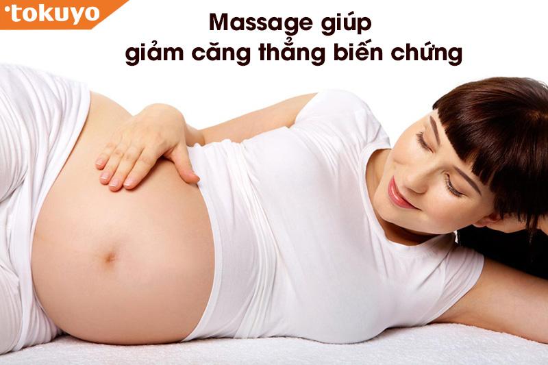 Lợi ích của việc massage khi mang thai